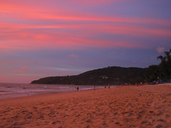 Sunset on Karon Beach, Phuket