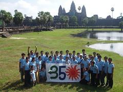 350 at Angkor Wat, Cambodia