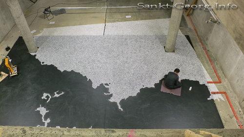 Motoi Yamamoto: Vergängliches Salzlabyrinth in Hamburg