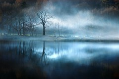 Smoke on the Water (mikehughescreative) Tags: mist landscape scotland photographer year lochossian takeaview