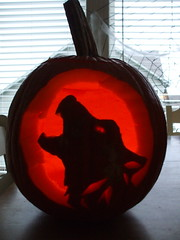 lit pumpkins - 4