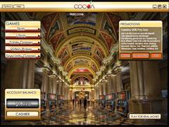 Cocoa Casino Lobby