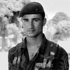 Kurdish soldier in Irak (Olivier Timbaud) Tags: soldier kurdistan irak kurdishman kurdishsoldier oliviertimbaud