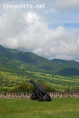 Brimstone Hill Fortress, St Kitts (Chennette) Tags: travel nationalpark 17thcentury tourist artillery fortress stkitts brimstonehill worldheritage cannons stkittsandnevis 1690 sigma50mmf28