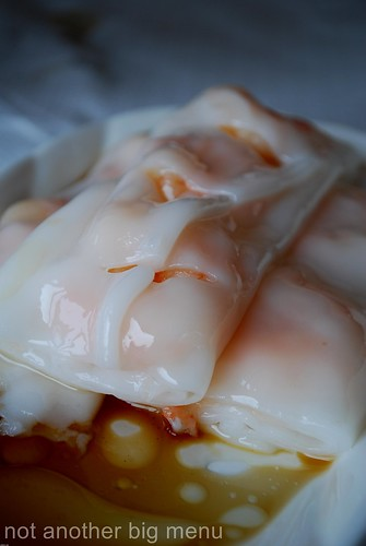 Yi Ban, Royal Docks - King prawn cheung fun