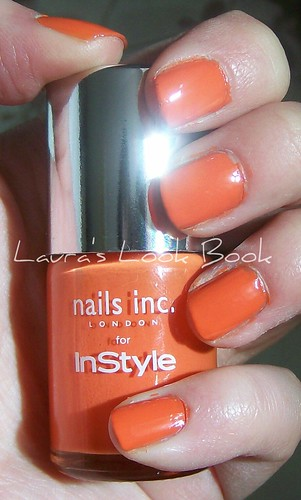 Nails Inc for InStyle Candy Orange