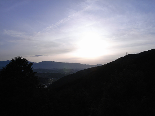 飛鳥の夕日(多武峰見瀬線)-03