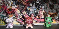 three to work on tonight (mikaplexus) Tags: sculpture favorite green art me animal animals toy toys michael paint designer tail alien vinyl horns aliens kidrobot unfinished custom mika vinyls dunny arttoy customs arttoys rainforrest plexus mammel designertoy toy2r dunnys customtoy designervinyl customtoys michaelstewart ireallylike k8t customdunny designervinyls okira customdunnys mikaplexus intergalacticdrugdealer michaelduanestewart