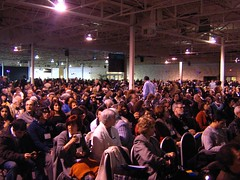 """a crowd of thousands • <a style=""""font-size:0.8em;"""" href=""""http://www.flickr.com/photos/70272381@N00/3192578575/"""" target=""""_blank"""">View on Flickr</a>"""