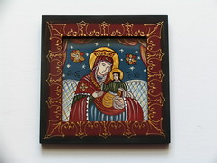 Maica Domnului cu Pruncul (cod MDP8) (Marius Paciu Art) Tags: icons jesuschrist religiousart byzantineicons cultobject religiousrepresentations