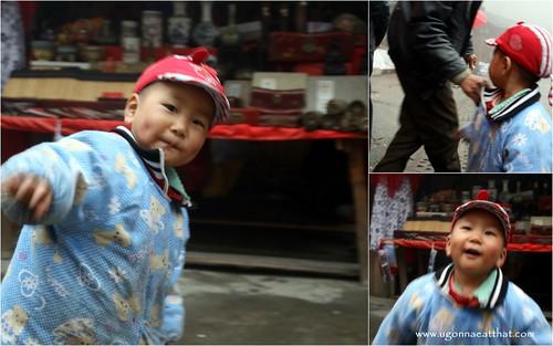 Cute kid, Longji Terraces, China