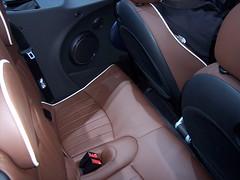 Mini Convertible back seat (crazytales562) Tags: hall back seat detroit convertible mini double 2009 naias dak amputee cobo northamericaninternationalautoshow cobohall