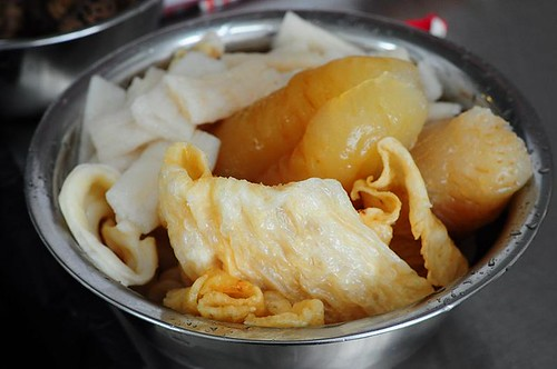 Fish Bladder, Fish Maw, Sea Cucumber & Bamboo Pith
