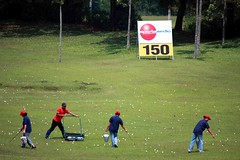 Pondok Cabe golf (Mangiwau) Tags: golf driving random balls randomness course jakarta pondok range mathematical caddy padang cabe sprayed pertamina lapangan