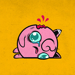 #039 jigglypuff (jublin) Tags: anime thing cartoon pokemon jigglypuff