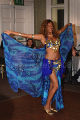 Saji - Bellydancer at The Silk Route 28/9/2008 (Copyright Dave Halley 2008) (Dave Halley) Tags: world show uk blue england west london english garter dave gold star photo dance costume veil dancers dancing image photos britain stage south events united great performance silk bellydancer kingdom dancer images arabic east route belly event photographs photograph ballroom shows british bellydance perform arabian middle 2008 eastern bellydancing act bellydancers acts halley putney the saji bellyworld