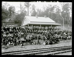 Pay day at the A Pit Colliery Office, Newcastle, NSW, 24 February 1899 (Cultural Collections, University of Newcastle) Tags: newcastle underground australia nsw mines coal payday miners 1899 collieries ralphsnowball snowballcollection ralphsnowballcollection glebepit asgn0161b7 apitcolliery newcastlecoalminingco newcastlecoalmining glebevalley newcastleregionnswhistorypictorialworks photographynewsouthwalesnewcastle