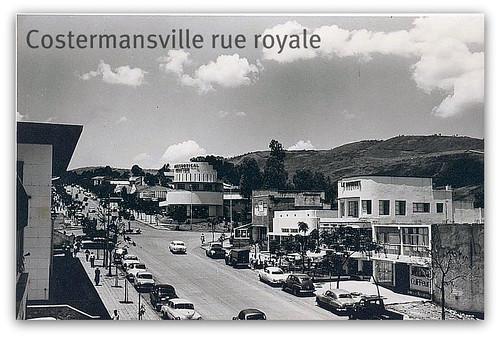 Avenue Royale.  Costermansville (Bukavu)