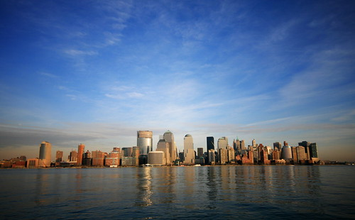 Downtown Manhattan New York Skyline - Desktop Wallpaper edition