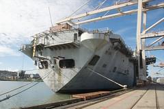 USS Tripoli returns to Pier 80 (daver6sf@yahoo.com) Tags: sanfrancisco portofsanfrancisco usstripoli aircraftcarrior