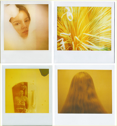 yellow light polaroids