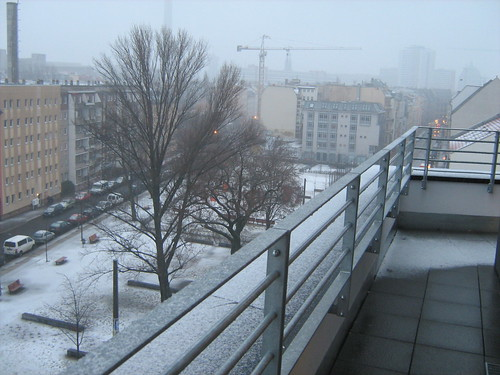 More snow in Berlin
