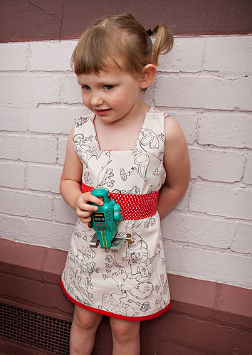 Knuffle Kid reversible dress