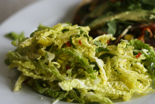 Lime and Chile Cabbage Slaw