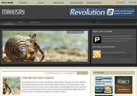 Mahusay Free Wordpress Theme