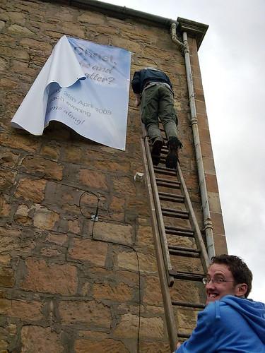 Stephen Alexander - give that man a ladder