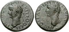 PAPHLAGONIA, Sinope. Britannicus, with Nero as Caesar. AD 41-55.  22mm (7.43 g, 2h) (Joe Geranio) Tags: roma art coin all coins joe julio estatuas imperial claudio ritratto nero romanempire courtesy iconography augustus association arthistory augusto romanart tiberius texts claudius geranio imperator ancientrome caligula romanemperor romansculpture nerone numismatics iconographic romanmuseum tiberio classicalart 1stcenturyad anticaroma princeps britannicus earlyempire julioclaudian claudian imperialrome firstcenturyad caligola claudianperiod augustanperiod earlyimperialperiod caligulanperiod bildnisse joegeranio romanportraitstudy imperialart celator romanimagery romanepigraphy neronianperiod tiberianperiod earlyimperialrome earlyromanempire augustanage romanmetallurgy portraitureofthejulioclaudians imperialimagery imperialiconography diebildnisse ancientromanportraiture julioclaudianiconographicassociation julioclaudianportraitstudyromanbust ancientromanimages cngcoinscom
