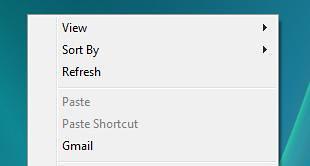 Any Program Into Desktop Context Menu