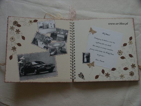 wedding guest book - inside2