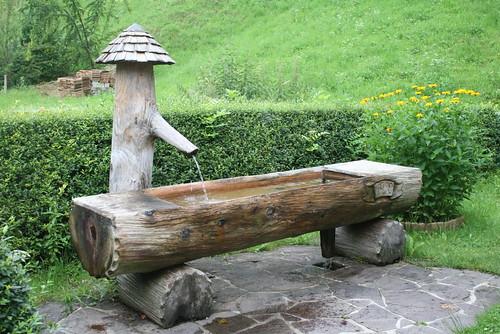 Fontaine en bois