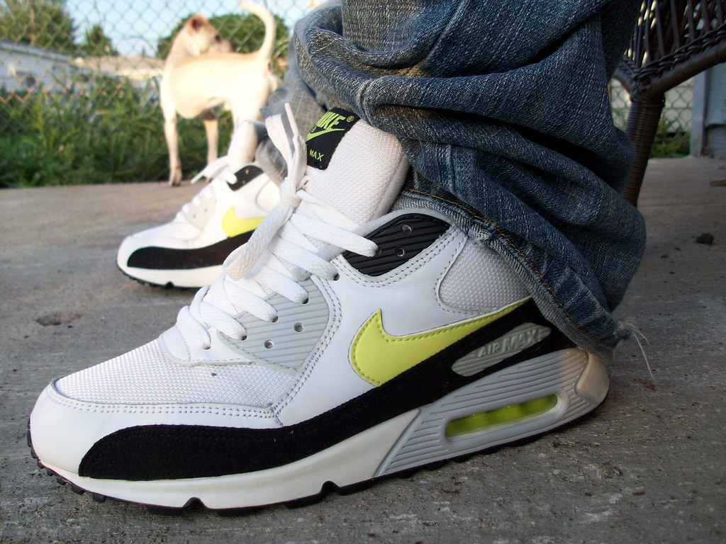 finest selection a2236 430a8 Air Max 90  quot Hot Lime quot  (i got the monchies) Tags  2003 old light