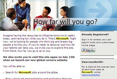 Microsoft Careers OLd