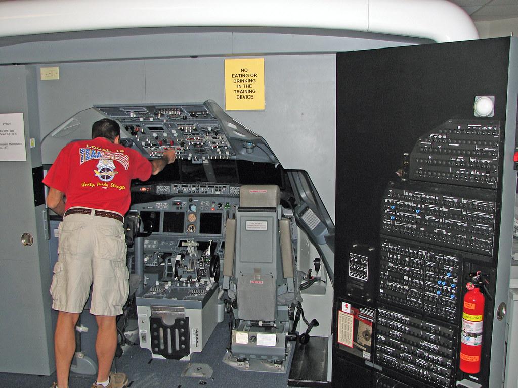 First SWA Flight sim.