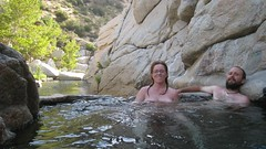 IMG_3068 (Zane Selvans) Tags: ca usa weekend backpacking hesperia hotsprings skinnydipping deepcreek michelleselvans zaneselvans