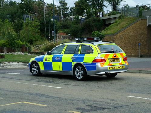 Bmw 530d Touring. Kent Police Bmw 530d Touring