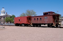 Tombstone's old choo-choo! (seve) Tags: railroad arizona usa cowboys america downtown tombstone az trains roadtrip western cochise 2007 wyattearp allenstreet okcorral gunfights
