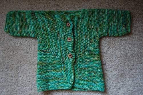 FO: Baby Surprise Jacket