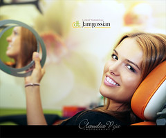 Fun at the dentist? (claudiaveja) Tags: white smile smiling fun photography colorful stock young images fresh medical claudia concept transylvania dentist adelina dentistry veja cluj royaltyfree rightsmanaged claudiaveja catinas rightmanaged