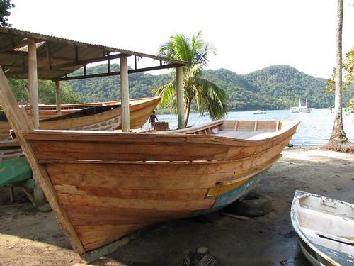 rebuild fishing boat