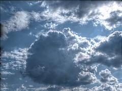 HDR cumulus (pilvibongari) Tags: summer cloud finland hdr kuopio cumulusmediocris detailenhancement