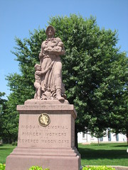 Madonna of the Trail, Vandalia, Ill.