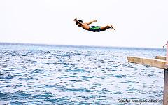 Freedom (ginelee-on-the-go) Tags: travel swim freedom fly jump dive workshop cebu magichour photogaphy boljoon cebusugbo proudtobepinoy nikond40 pinoykodakero teampilipinas cebusouth garbongbisaya