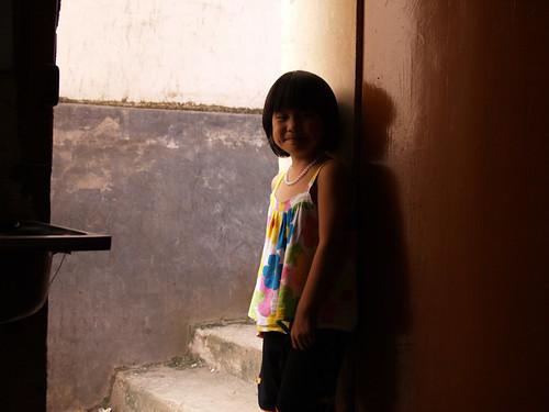 你拍攝的 小女孩。