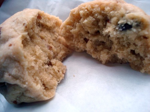 Pecan chocolate chip chubbie cookie from Monorail Espresso