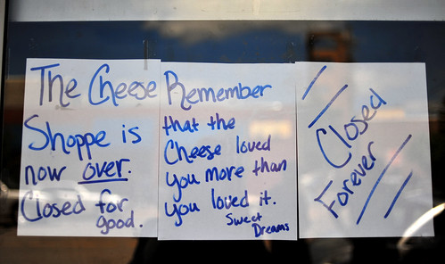 remember the cheese loved you more than you loved it, from Lawrence, Kansas