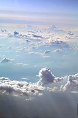 Discovered Horizons [explored!] (Orie Lawn) Tags: travel light sky sun clouds plane airplane horizon explore westvirginia heavens explored